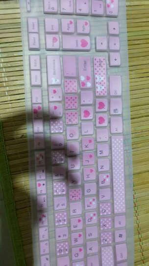 联想(LENOVO) 联想键盘膜 台式一体机KU1153 KB4721 K5819 半透明粉色 联想一体机C470 C560键盘保护膜 晒单图