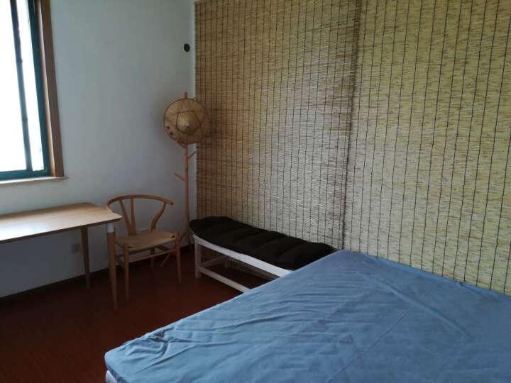 实木衣帽架简易挂衣架落地家用卧室简约衣服架子欧式现代创意 实木色 晒单图
