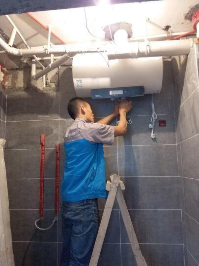 美的(Midea)60升双管速热 预约洗浴电热水器 F6021-J3(HEY) 晒单图