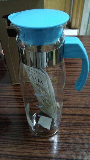 HARIO 冷水壶 日本原装进口冷水壶耐热玻璃杯壶 凉水壶 玻璃水瓶大容量果汁壶1.4L 天空蓝 RPLN-14-BU-CEX 晒单图
