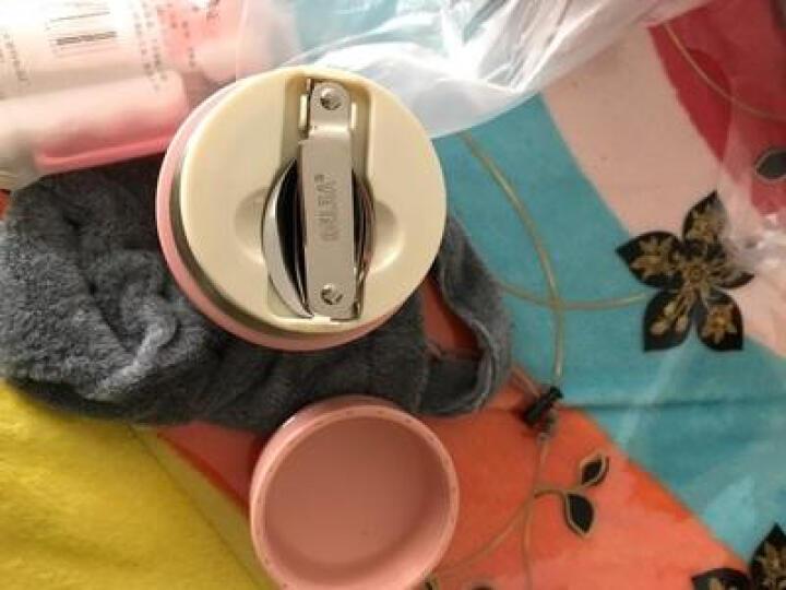 物生物(RELEA) 物生物保温饭盒焖烧壶杯锅罐保温桶带折叠勺便携袋540ML 孔雀蓝 晒单图
