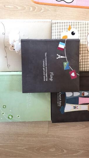 纸器时代礼盒装刺绣7寸相册影集 大6寸插页式相薄 宝宝儿童纪念记录册 送女友 情人节礼物 刺绣-旅行 彩色内页 晒单图