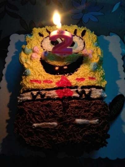 蜜司(Missing) 儿童生日蛋糕同城配送全国配送卡通定制创意蛋糕可爱海绵宝宝同城蛋糕店北京成都 18寸 晒单图