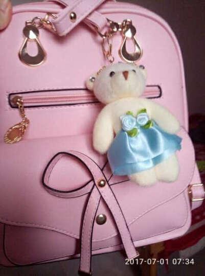 EFILIYO 新款女包韩版双肩包百搭两用背包女士四季旅行包包春秋学院风书包 绚丽粉 晒单图