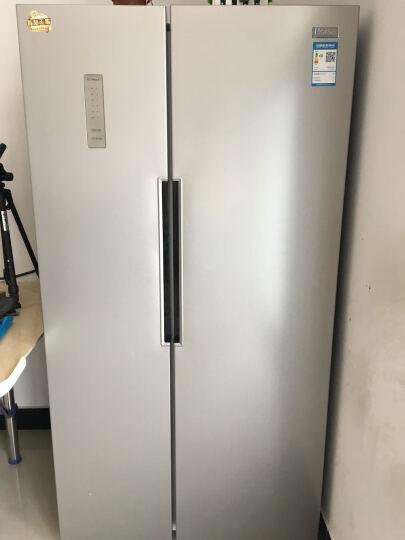 奥马(Homa) 488升 风冷无霜对开门冰箱 纤薄设计 电脑控温 制冷均匀 节能保鲜 银色 BCD-488WK 晒单图