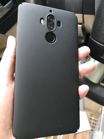 蒙奇奇 华为mate9手机壳保护套磨砂防摔外壳 适用于华为mate9 mate9pro星空黑 晒单图