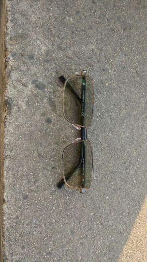 Montblanc 万宝龙 男款黑色全框镜框黑色镜腿光学眼镜架眼镜框 MB 0629-008 58mm 晒单图