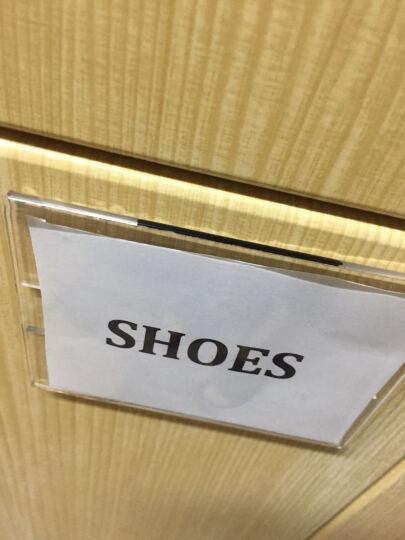 金雕(JinDiao) 价格牌 墙贴式亚克力商品标价签 卡套 货架产品标识牌提示台卡 墙贴式标签【7.5*10.5cm】 晒单图