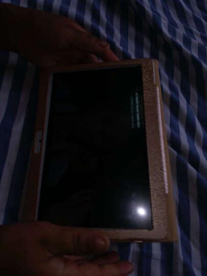 艾电尼 平板电脑八核10.1英寸IPS高清屏安卓4G通话手机二合一 土豪金(32G) 官方标配+键盘+皮套 晒单图
