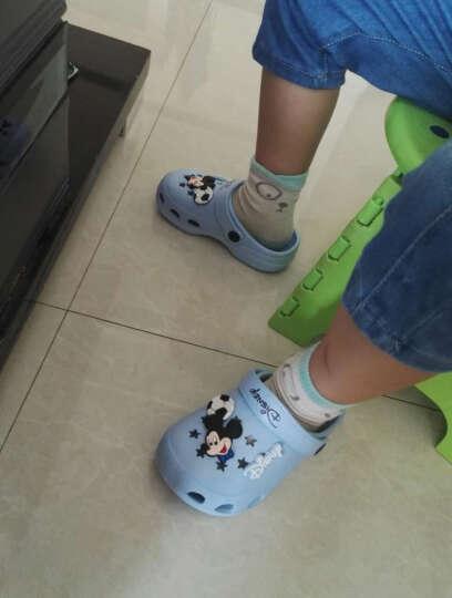 迪士尼 DISNEY 儿童凉鞋 拖鞋 男女童沙滩鞋 洞洞鞋 101宝兰33 晒单图