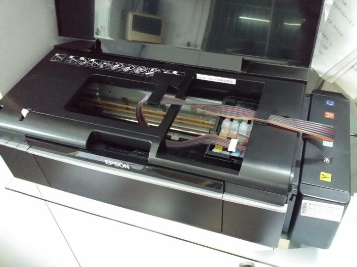 爱普生(EPSON)照片打印机家用高品质商务6色彩色照片喷墨打印机R330/L805升级版本手机摆滩 R330专业六色(热转印T恤/杯子/手机壳) 套餐一 晒单图