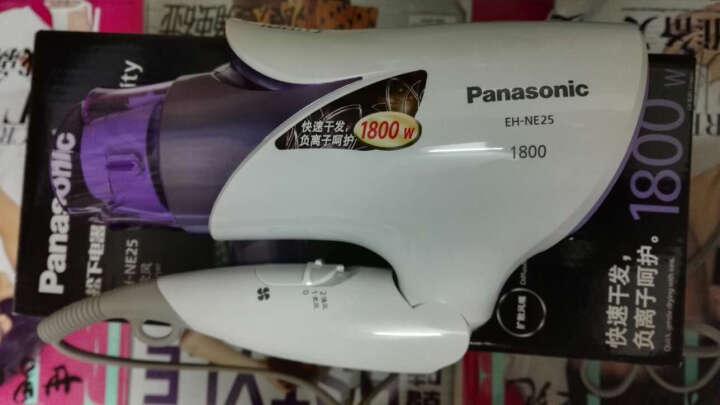 松下(Panasonic) 电吹风机 EH-NE24/NE25负离子护发家用电吹风筒 橙色NE24 晒单图