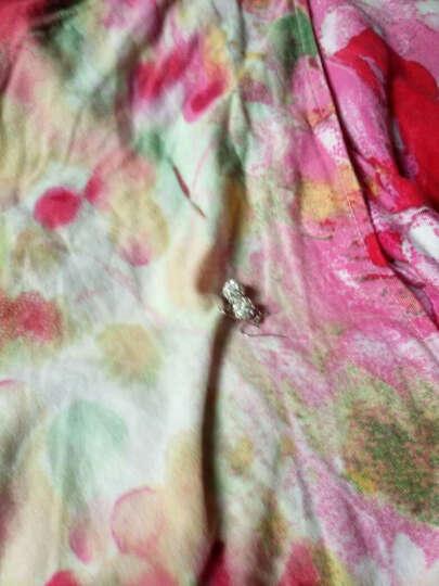 瑞洛拉 镀925银耳钉 气质可爱女耳饰品 简约时尚花朵韩版耳环耳坠 雪花耳扣 30%银镀银 晒单图