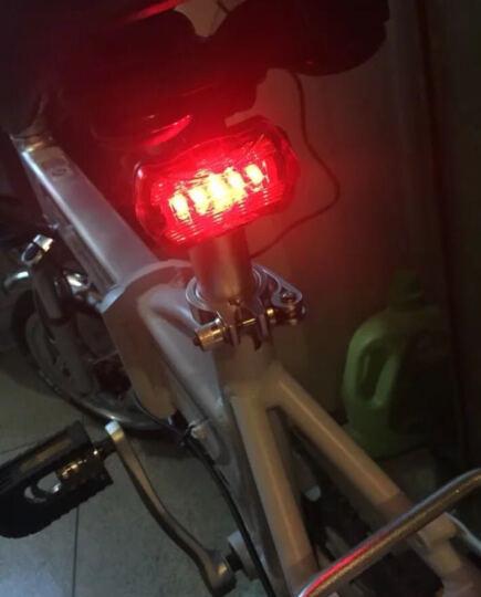 正步(ZB) 电动车自行车 锂电池电动单车轻便碟刹减震电瓶车 迷你折叠电动车欧美款 16寸20寸48V旗舰版90KM续航纯真白留言尺寸 晒单图
