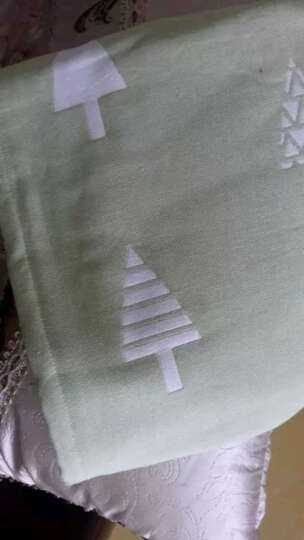 寻梦鸟 毛毯  三层纱布被成人四季通用盖毯加厚纯棉单双人全棉沙发毯办公室午睡毯子 摩卡棕色 180*200cm 晒单图