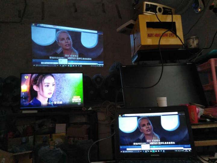 福满门(Fumen) B100AA 家用投影仪 高清LED投影机 白色套餐一 晒单图