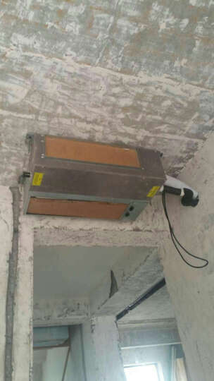 美的(Midea)中央空调全直变频冷暖智能wifi手机小多联一拖三一拖四一拖五一拖六嵌入式中央空调 H120一拖四70-90平方 全直流 晒单图