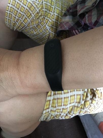 博之轮(BOZLUN)学生运动电子表男女款潮流时尚手表智能手环防水心率计步智能提醒睡眠监测 白色-心率血压心率版 晒单图