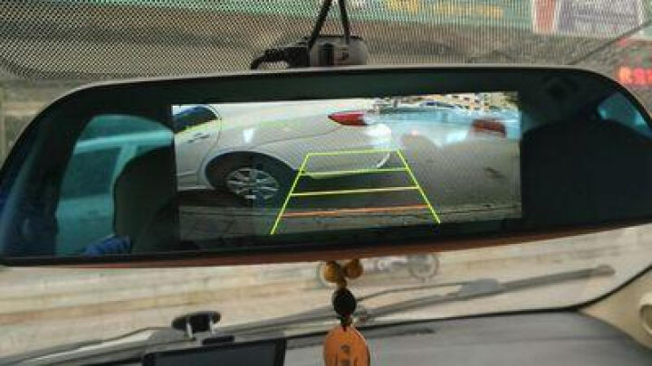 丁威特 高清智能声控导航仪行车记录仪双镜头电子狗蓝牙wifi升级无光夜视停车监控倒车影像后视镜一体机 套餐二 10英寸双镜头前后双录无导航电子狗 晒单图