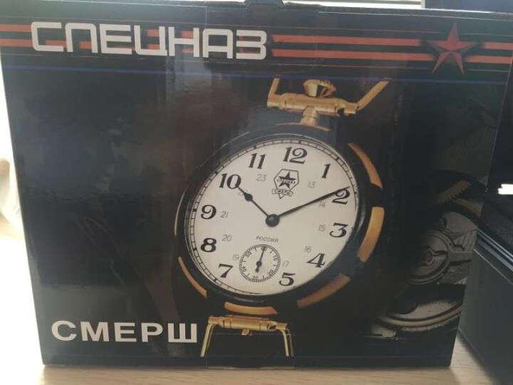 特工(СПЕЦНАЗ)两用怀表 男士机械表进口死亡间谍系列军表 男表欧美品牌个性手表 9456325 晒单图