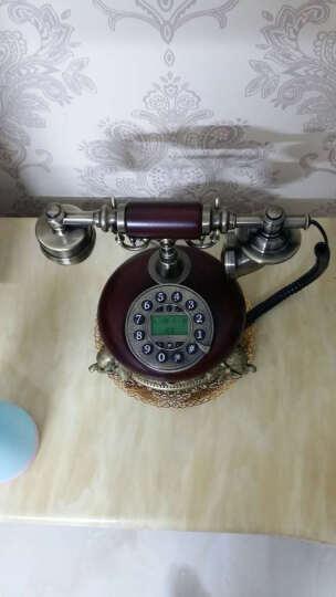 悦旗 仿古电话机欧式老式复古电话机时尚创意家用座机中式固定电话机家居装饰品卧室客厅书房座机古董摆件 款式七按键 晒单图