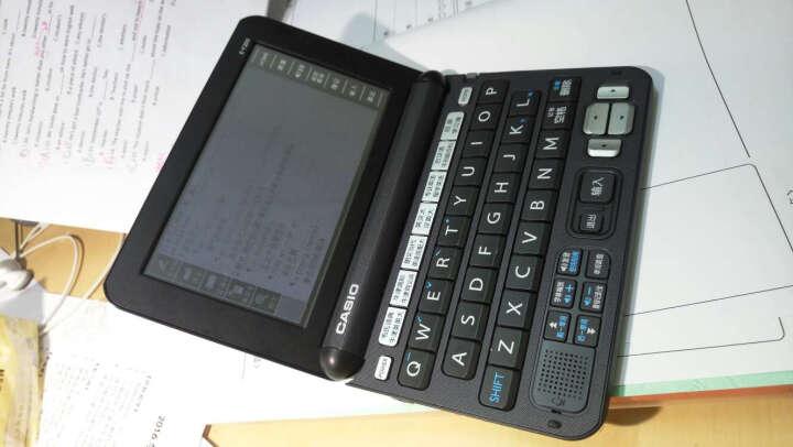 卡西欧(CASIO)E-Y200BK 电子词典 英汉辞典 京东定制礼盒(E-Y200BK+腾讯视频半年卡)  晒单图