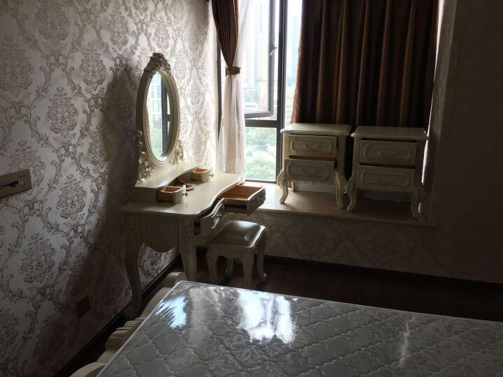 树之家 茶几欧式大理石茶几 简约储物茶桌台 小户型茶几电视柜组合套装客厅家具 1.35m爵士白(理石面) 晒单图