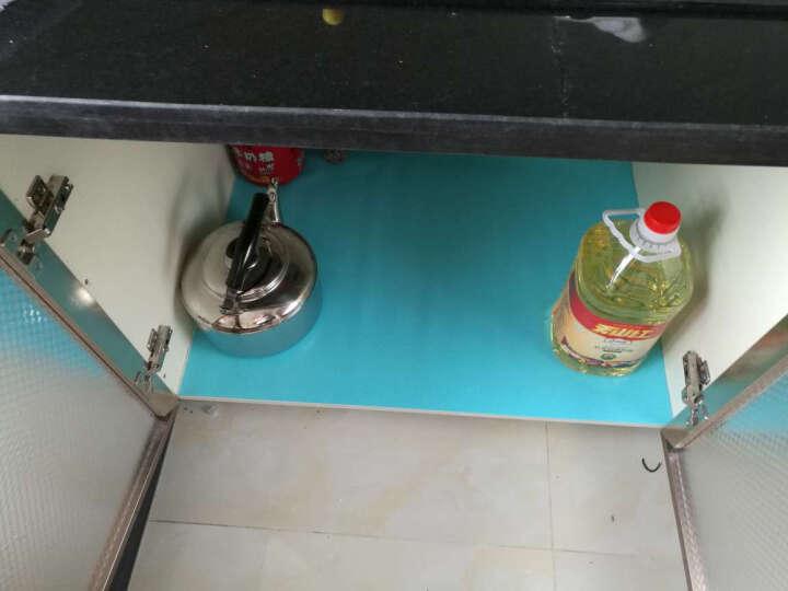 艾多(MULTI-AI) 【买三免一】可裁剪防水防油餐桌垫桌 餐垫隔热垫 橱柜垫 防潮抽屉垫衣柜垫纸 加宽60*150厘米绿色 晒单图