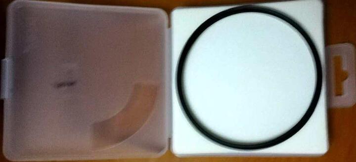 耐司(NiSi)MC UV 95mm UV镜 双面多层镀膜无暗角 单反uv镜 保护镜 单反滤镜 滤光镜 佳能尼康相机滤镜 晒单图