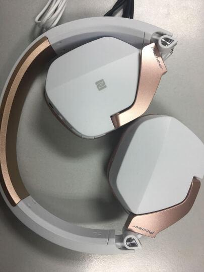 先锋(Pioneer)MJ101BT 苹果华为小米头戴式无线蓝牙重低音音乐耳机 白色 晒单图