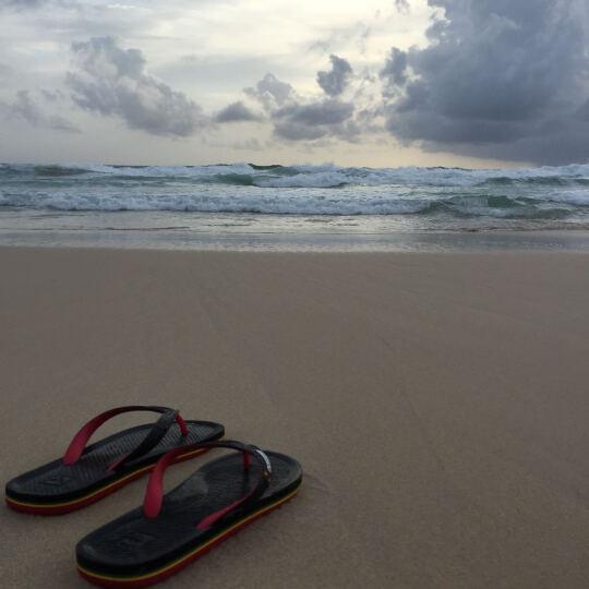 Quiksilver 夏季沙滩人字拖潮流男士夹趾凉拖鞋51-1529 51-1529-XKBB 8 晒单图