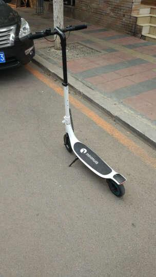 半驴 电动滑板车成人男女便携代步折叠车锂电池超轻迷你型代驾电瓶车两轮普通版 青水蓝 按键版--续航30-40km 晒单图