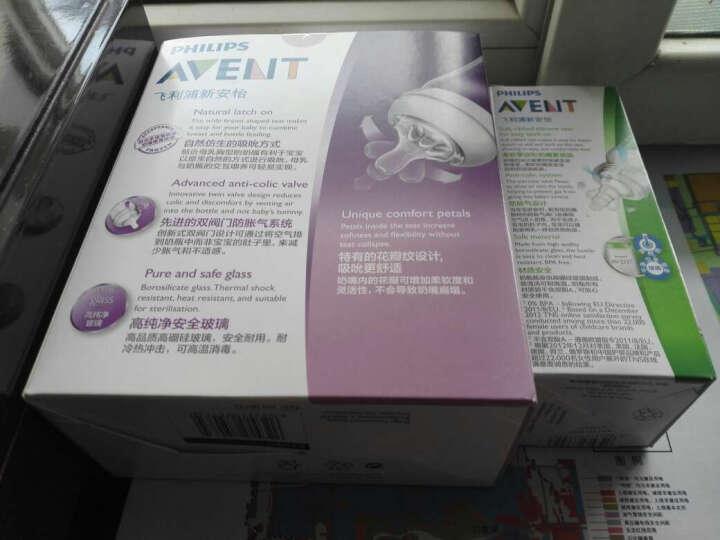 飞利浦新安怡 英国品牌 AVENT 标准口径玻璃奶瓶120毫升SCF993/27 晒单图