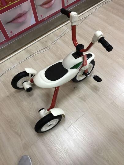 美途(MEACOOL)折叠儿童三轮车 脚踏车宝宝小孩自行车 免充气3-6岁红色 晒单图