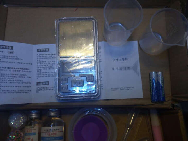 水晶滴胶套装 DIY手工饰品材料包 首饰模具 ab胶干花戒指模具 简易套装 晒单图
