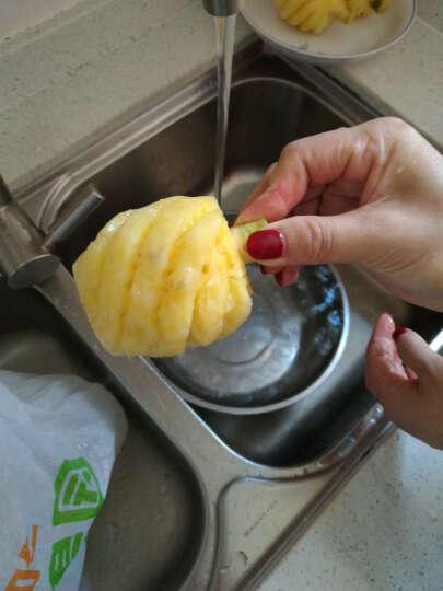 顺丰 泰国小菠萝 1kg 7-12个 削皮迷你小菠萝 新鲜水果 晒单图