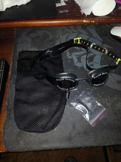 速比涛(Speedo) 泳镜高清防雾防水 大框舒适潜水游泳眼镜 男女游泳装备 奥运精英黑 晒单图
