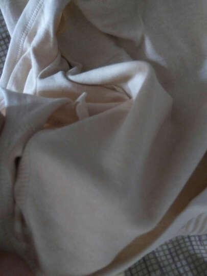 南极人(Nanjiren) 初生婴幼儿衣服0-3月宝宝哈衣爬服和尚服新生儿夏季薄款婴儿连体衣 四季-棕色护手护脚小熊 59cm 晒单图