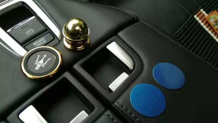 JQD 车载手机支架 磁铁性汽车导航 懒人支架 车用手机架  苹果三星华为魅族小米 磁性支架-玛莎拉蒂款 晒单图
