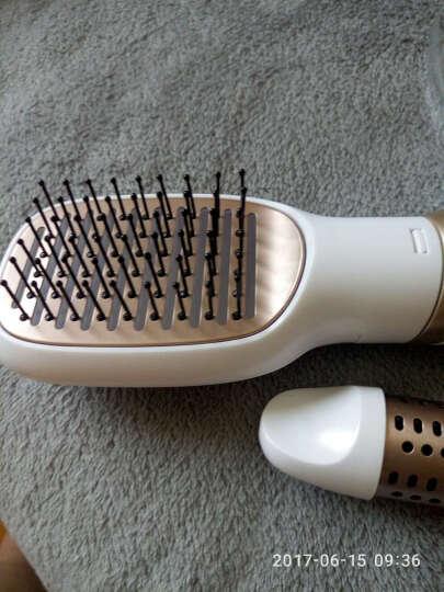 飞利浦(PHILIPS)卷直发器 负离子 养护 直卷发 造型 卷发棒 吹风造型梳HP8663/15 晒单图