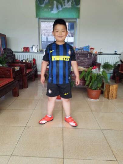新款儿童足球服套装 夏季短袖男女童训练运动 姆巴佩内马尔梅西球衣定制表演比赛 多特主场 L 晒单图