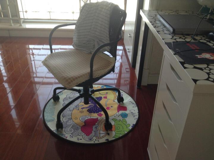 卡通儿童游戏帐篷圆形地垫幼儿园用早教坐垫吊篮转椅垫电脑椅 开心马戏团 直径1.2米圆 晒单图