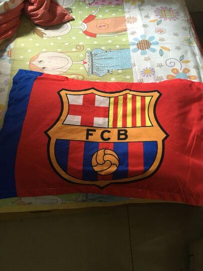 足球队球床单三件套迷曼联四件套利物浦西皇家马德里 床上用品 被套被罩床单枕套 拜仁慕尼黑 床单160*230 被套150*200 晒单图