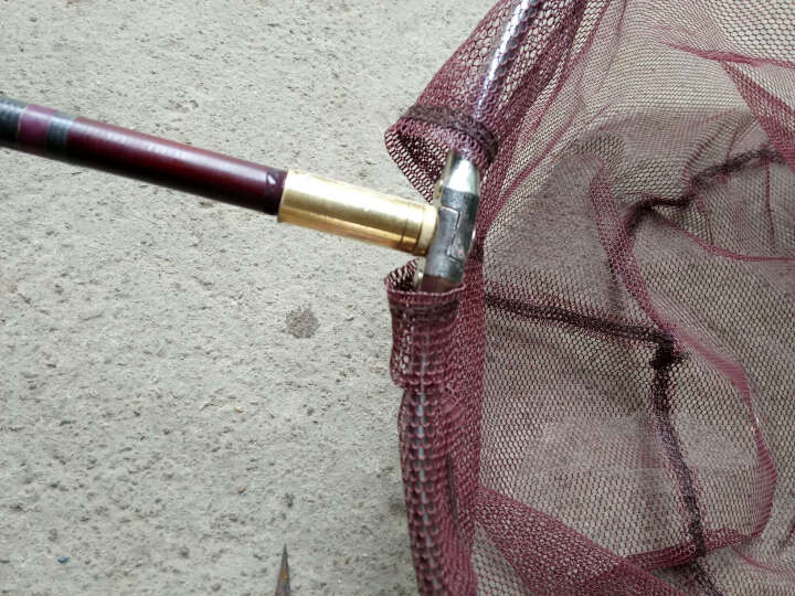 索鱼 抄网杆铜接头 8mm螺纹 另一头各种尺寸 钓鱼装备 垂钓用品 钓鱼小配件 鱼竿改抄网杆 内径13mm 晒单图