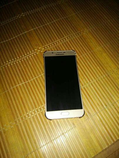三星(SAMSUNG)A8透明手机壳/手机套/保护后盖 适用三星A8/A8000/A800 三星A8手机壳泊光金 晒单图