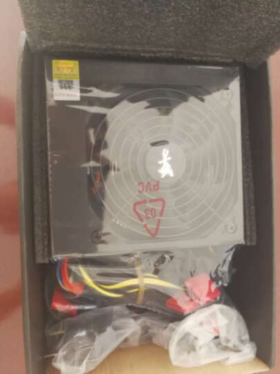 长城(GreatWall) 额定450W HOPE-5500ZK电源 (智控0分贝/70cm长输出线/台系电容/三年质保/静音风扇) 晒单图
