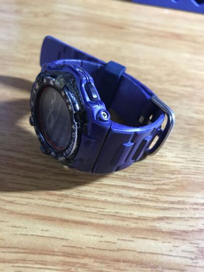观度 手表配件 适配斯沃琪swatch 卡西欧 手表扣 硅胶表圈 原创系列手表活动圈 墨绿色 22 晒单图