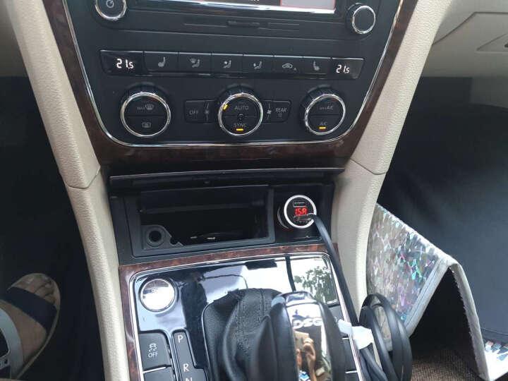 毕亚兹 车载充电器+二合一 (Micro/Type-c) 手机数据线 MC9+K19升级版 银色套装 车充数据线套装 晒单图