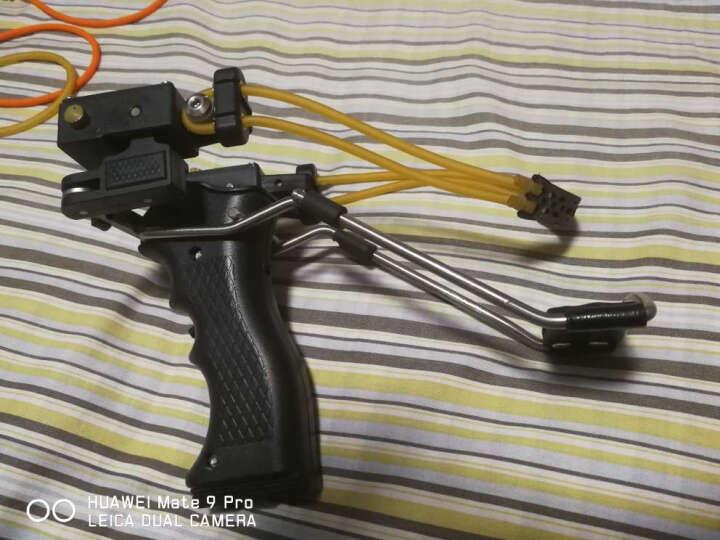 奥圣达 高端版警犬弹弓 瞄准镜户外弹弓 不锈钢金属精准弹弓器 绿光 晒单图