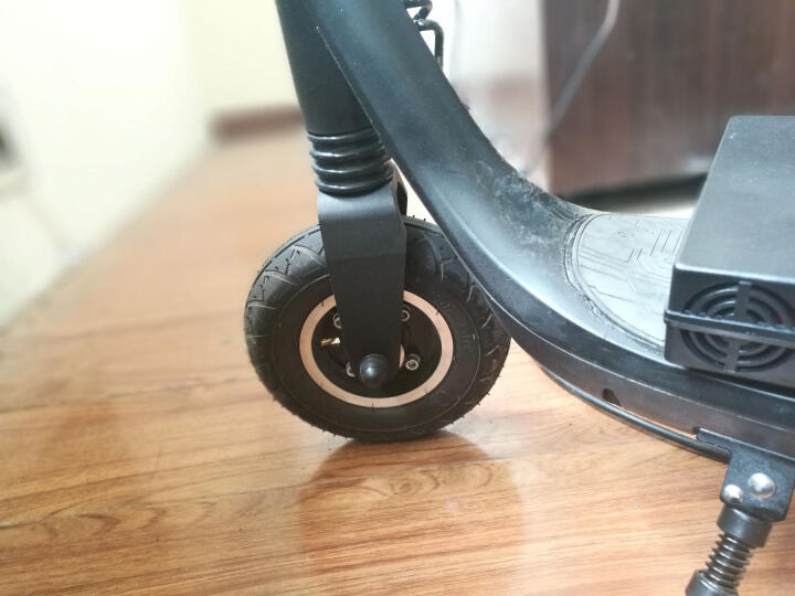 半驴电动滑板车 成人/学生 迷你/便携/折叠双轮休闲代步车/电动车 红色 蓝牙青春版 晒单图